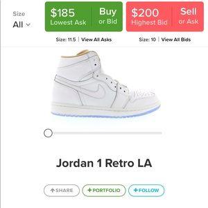 low priced 97e84 bbbd2 Air Jordan 1 Retro High LA